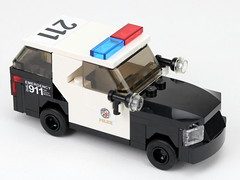 LAPD Ford Explorer (2020) (Brick Police) Tags: lapd ford explorer lego