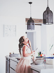 Caught in the act 💕😊 (Bron.Wolff) Tags: grandchild kitchen cooking moment capture cute sweet girl child