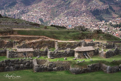 Terrace walls (marko.erman) Tags: sacsayhuamán peru cuzco fortress inca city pov history tupac pachacuti panoramic panorama sony travel outside outdoor monument destroyed fortified sunny cloudy impressive stones megalithic terracewalls giant latinamerica southamerica