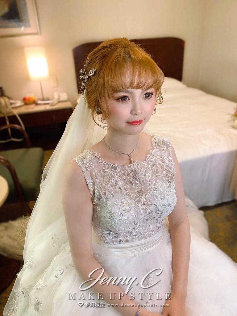 【新秘蓁妮】bride 宛萱 結婚造型 / 唯美造型