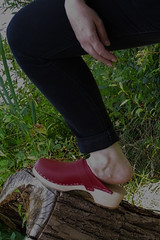 DSCI2169 (IRENE BECKE 1964) Tags: german milf clogs woodenclogs barefeet swedenclogs