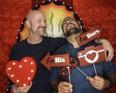 DSCN8780 (danimaniacs) Tags: valentinesday portrait man guy smile beard scruff gay couple colorful
