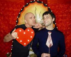 DSCN8726 (danimaniacs) Tags: valentinesday portrait man guy smile gay couple colorful