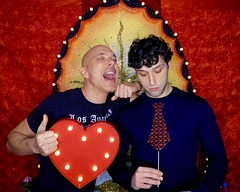 DSCN8724 (danimaniacs) Tags: valentinesday portrait man guy smile gay couple colorful