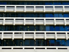 Office repetition (sander_sloots) Tags: office building repetition gebouw architecture australian architectuur australia bennett street perth cbd dctz90 lumix panasonic modernist functionalism concrete beton modernisme kantoor kantoorgebouw less is more abstract photography picture foto fotografie western australië pattern patroon