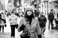 Message Check (STREET2020) Tags: candid canoneos750d citylife fashion glasgow hat people phone places scotland street streetphotography streetportrait style