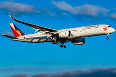 Philippine Airlines - Airbus A350-941 / RP-C3507 @ Manila (Miguel Cenon) Tags: pal pala350 pala359 pra350 pra359 philippineairlines planespotting ppsg philippines plane pr rpll airplane airplanespotting apegroup appgroup airport airbus airbusa350 airbusa359 a359 a350 manila nikon naia d3300 wings widebody widebodyjet wing twinengine fly flying jet rollsroyce rrtrent trentxwb sky aircraft window cockpit building city speciallivery lovebus rpc3507