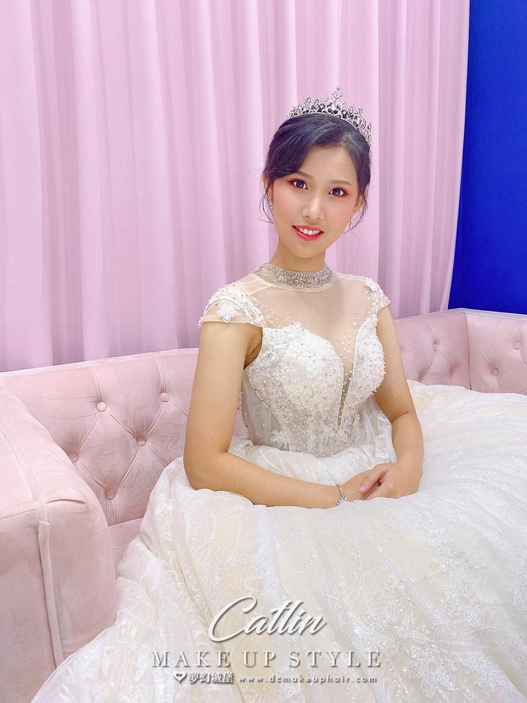 【新秘Catlin】新娘造型創作 / 公主皇冠造型