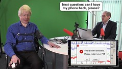 Can I have my phone back, please? (Cui Bono) Tags: boris johnson bojo boorish conservative party tory prime minister great britain united kingdom lie detector means test liar lies lying dishonest fib bullshit fake news phone steal stolen grab journalist mobile telephone