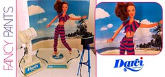 FANCY PANTS (ModBarbieLover) Tags: darci 1979 1980 doll vintage resort photoshoot studio redhead toy backdrop fashion