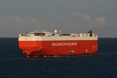 Toledo, The Solent, August 31st 2019 (Southsea_Matt) Tags: toledo walleniuswilhelmsen unitedkingdom england thesolent canon 80d sigma 70200mm august 2019 summer ship vessel boat marine transport cartransporter