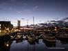 Swansea Marina at night 2020 01 20 #2
