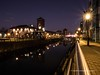 Swansea Marina at night 2020 01 20 #4