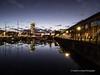 Swansea Marina at night 2020 01 20 #7
