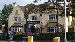 [84018] Nuthall : Three Ponds (Budby) Tags: nuthall nottinghamshire pub publichouse
