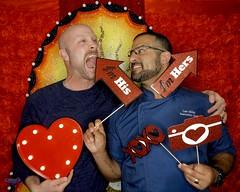 DSCN8782 (danimaniacs) Tags: valentinesday portrait man guy smile beard scruff gay couple colorful