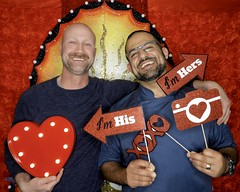 DSCN8778 (danimaniacs) Tags: valentinesday portrait man guy smile beard scruff gay couple colorful