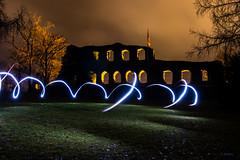Lightpainting an der Karlsburg (stefanendres) Tags: de womo karlstadt picoftheday mühlbach lightpaint lightpaintfotographie 90d canon langzeitbelichtung