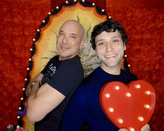 DSCN8727 (danimaniacs) Tags: valentinesday portrait man guy smile gay couple colorful