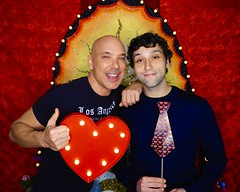 DSCN8725 (danimaniacs) Tags: valentinesday portrait man guy smile gay couple colorful
