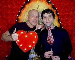 DSCN8723 (danimaniacs) Tags: valentinesday portrait man guy smile gay couple colorful