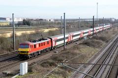 90019 aa Marholm 060219 D Wetherall (MrDeltic15) Tags: eastcoastmainline dbcargo class90 90019 marholm ecml