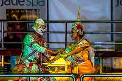 Thai Dancers (Tony Shertila) Tags: nikon5300 asia columbus costume cruise culture dancing deck laemchabang night outdoor ship show thailand tourist worldcruise 201903312104500