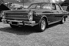 Northern Car & Bike Show (Thunder1203) Tags: aurorahdr automobile canon carshow chrome custombikes customcars hdrphotography hotrod northerncarandbikeshow pascoevale standrewscricketclub topazstudio classiccars hdr onshow transportation blackandwhite monochrome bw