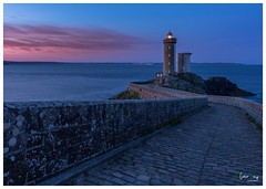 Lighthouse in blue hour!! (photosunivers.fr) Tags: lighthouse phare brittany bretagne sea mer blue hour heure bleue landscape paysage