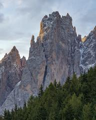 Mountain Side (JH Images.co.uk) Tags: dolomites mountain peak mountainpeak trees rock italy alps