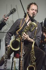 Frog & Henry (2020) 06 - Ewan Bleach (KM's Live Music shots) Tags: jazz ragtime greatbritain froghenry ewanbleach baritonesax saxophone winningposttwickenham
