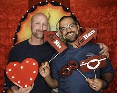 DSCN8783 (danimaniacs) Tags: valentinesday portrait man guy smile beard scruff gay couple colorful