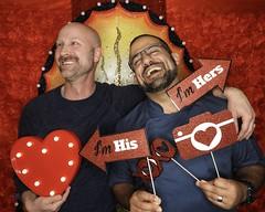 DSCN8779 (danimaniacs) Tags: valentinesday portrait man guy smile beard scruff gay couple colorful