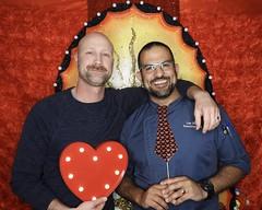 DSCN8767 (danimaniacs) Tags: valentinesday portrait man guy smile beard scruff gay couple colorful
