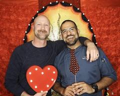 DSCN8766 (danimaniacs) Tags: valentinesday portrait man guy smile beard scruff gay couple colorful