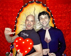 DSCN8722 (danimaniacs) Tags: valentinesday portrait man guy smile gay couple colorful