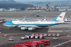 United States Air Force Boeing VC-25A (747-200); 82-8000@ZRH;21.01.2020 (Aero Icarus) Tags: zrh zürichkloten zürichflughafen zurichairport lszh plane avion aircraft flugzeug unitedstatesairforce boeingvc25a boeing747200 828000
