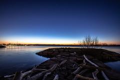 January 17,  2020. (Amanda Catching) Tags: today longexposure light line toronto lake ontario