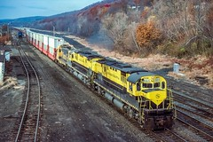 NTV-4 at Port Jervis (douglilly) Tags: newyorksusquehannawestern c430 portjervis