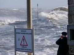 Tempête Fabien (Adèle Halleguen) Tags: lomener tempête storm mer fabien wind waves harbor bretagne brittany wave danger