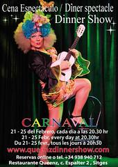 Cena espectáculo en Queenz Carnaval Sitges 2020 (Sitges - Visit Sitges) Tags: carnaval sitges 2020 queenz restaurant show cena espectáculo