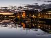 Swansea Marina at night 2020 01 20 #3
