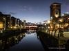 Swansea Marina at night 2020 01 20 #5