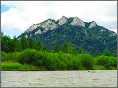 Dunajec River rafting (Poland)