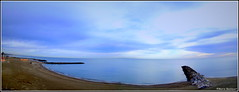 Panorama de la plage de Sainte-Marie en janvier (bleumarie) Tags: panorama bleu rocher jetée catalogne occitanie pyrénéesorientales mer france hiver promenade midi roussillon sud languedocroussillon méditerranée saintemarie saintemarielamer suddelafrance méridional bleumarie mariebousquet saintemarieplage nature paysage janvier 2020 littoral frontdemer littoralméditerranéen janvier2020 hiver20192020 18janvier2020 panoramique