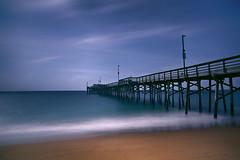 Newport Pier (lfeng1014) Tags: newportpier newportbeach newport beach pier newportbeachpier landscape pacificocean waves ocean sea canon5dmarkiii ef2470mmf28liiusm longexposure leefilters 49seconds california usa travel lifeng