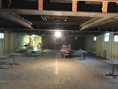 2019 - basement renovation
