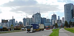 Truck, Bus and Tram (DAMO Photography) Tags: truck skybus yarratrams footscrayrd docklands 2020