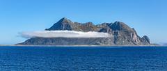 Fugløya; auf dem Wege nach Bodö (ulrichcziollek) Tags: fugløya gildeskål norwegen hurtigruten insel meer wolken