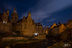 Follow the Current (TVZ Photography) Tags: hdr highdynamicrange waterofleith deanvillage edinburgh lothian city capital scotland sky night evening lowlight longexposure sonya7riii zeiss loxia 21mm
